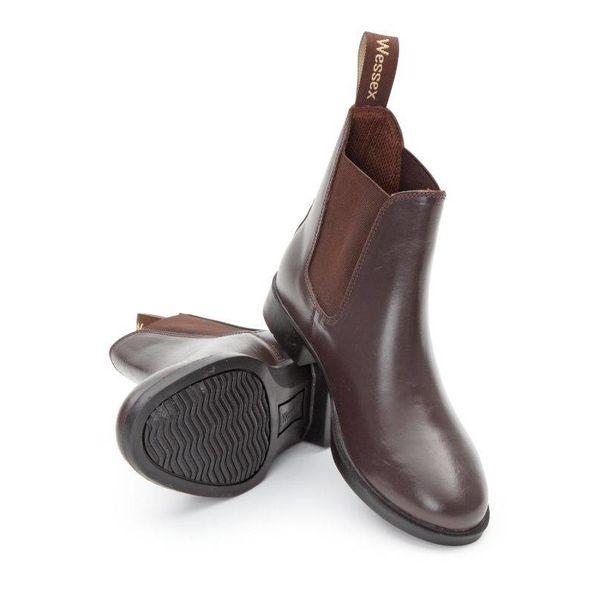 Wessex Lederen Jodphur Boots