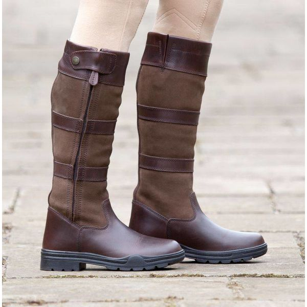 Broadway Long Leather Boots