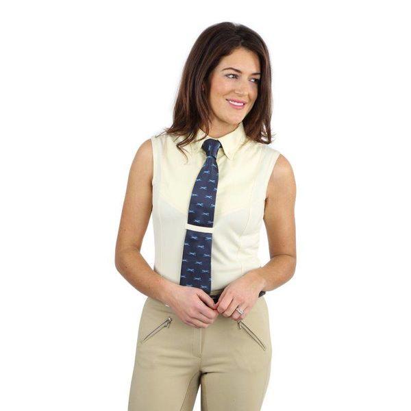 Dames Mouwloos Rij Overhemd