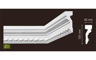 arstyl zierleisten flachprofil stuckleisten wand und friesleiste polyurethan pu. Black Bedroom Furniture Sets. Home Design Ideas