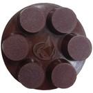 Superabrasive CALIBRA ceramic pad 76mm