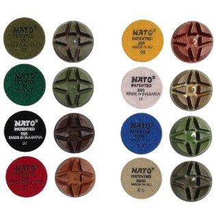 Superabrasive NATO droog en nat polijst schijven 81,5mm - 12 mm