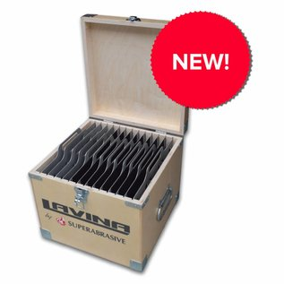 Superabrasive Toolbox - The perfect solution for storing and carrying your metal and resin tools!