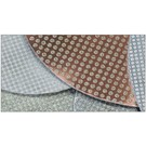 Superabrasive FLEXIBLE ELECTROPLATED PADS 225mm 9inch