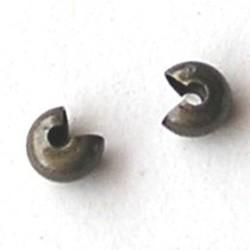 Knijpkraalverberger. 5mm. Donker Brons.