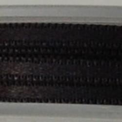 Satijnlint. 3mm. Zwart. 3 meter voor