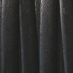 Echt Italiaans Leren band. 6mm. Donkerbruin. Per stuk van 10 centimeter.