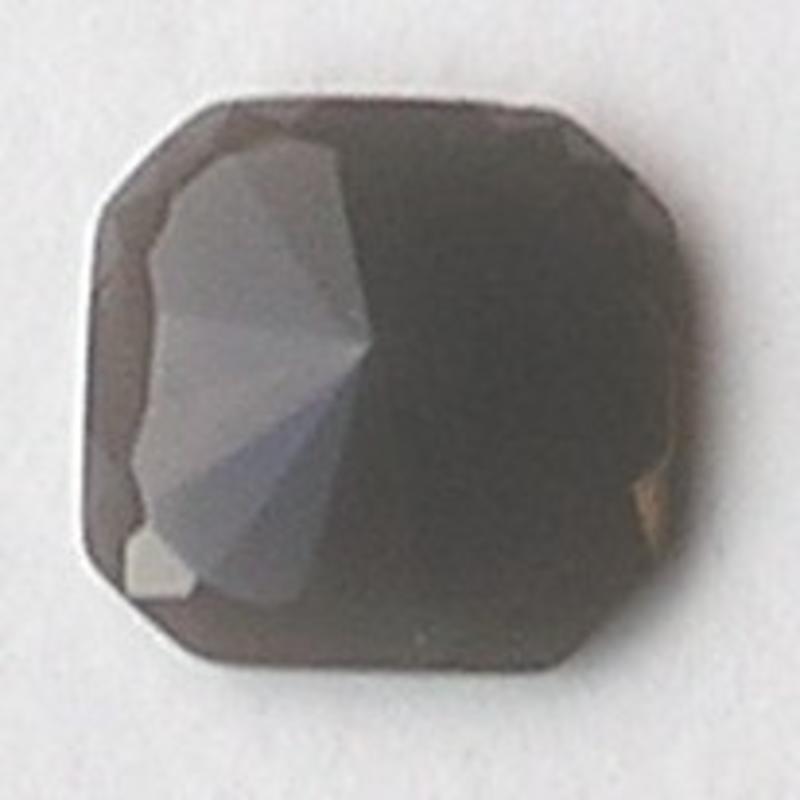 Cabochon. 24x24mm. Grey Opal. Glas. Vierkant.