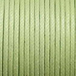 Waxcord. 2mm. Lime. Per meter.