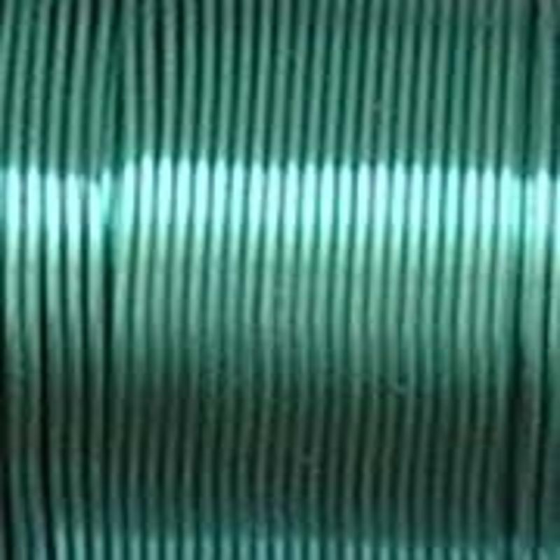 Beading Wire. Metallic Mint. 20 Gauge. 12mtr. Ideaal voor een kreukelketting