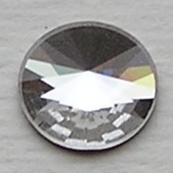 SWAROVSKI ELEMENTS Swarovski Plaksteen Flatback Disc. 2006. Crystal. 10mm.