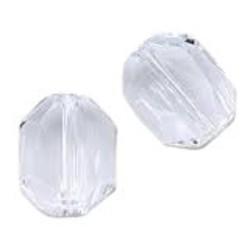 SWAROVSKI ELEMENTS Swarovski Graphic Bead 5520. 10x12mm. Crystal