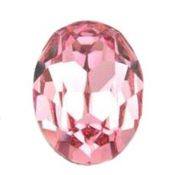 SWAROVSKI ELEMENTS Swarovski Fancy stone 4120 lt. rose 13x18mm.