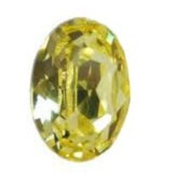 SWAROVSKI ELEMENTS Swarovski Fancy stone 4120 Jonquil 13x18mm.