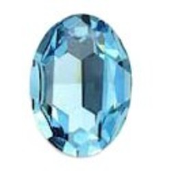SWAROVSKI ELEMENTS Swarovski Fancy stone 4120 Aquamarine 13x18mm.