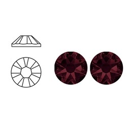 SWAROVSKI ELEMENTS Plaksteen Burgundy. ss20. 5mm.