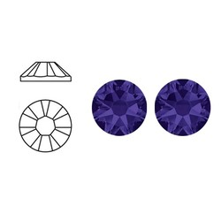 SWAROVSKI ELEMENTS Plaksteen Purple Velvet. ss20. 5mm. per stuk