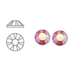 SWAROVSKI ELEMENTS Swarovski plaksteen Rose AB. ss20. 5mm.