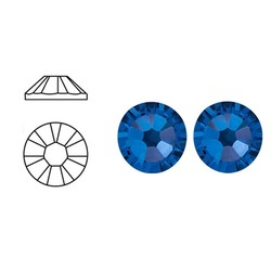 SWAROVSKI ELEMENTS Plaksteen Capri Blue. ss20. 5mm. per stuk