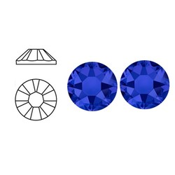 SWAROVSKI ELEMENTS Plaksteen Crystal Meridian Blue. ss20. 5mm. per stuk