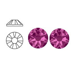 SWAROVSKI ELEMENTS Plaksteen Fuchsia. ss16. 4mm.