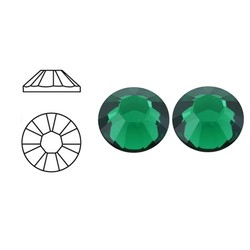 SWAROVSKI ELEMENTS Plaksteen Emerald. ss16. 4mm. Per stuk