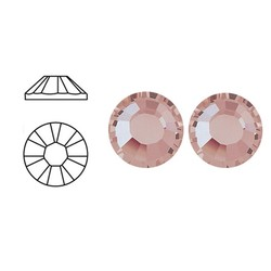 SWAROVSKI ELEMENTS Plaksteen Vintage Rose. ss16. 4mm. Per stuk