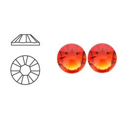 SWAROVSKI ELEMENTS Plaksteen Fire Opal. 3mm. 10 stuks voor