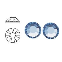 SWAROVSKI ELEMENTS Plaksteen Light Safier. 3mm. 25 stuks voor
