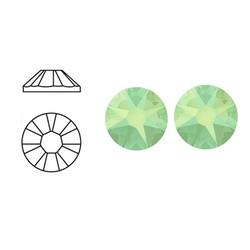 SWAROVSKI ELEMENTS Swarovski Plaksteen Chrysolite Opal. 3mm. 10 stuks voor