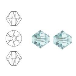 SWAROVSKI ELEMENTS Konisch Geslepen Glaskraal. Xilion Bead Light Azore. 4mm. Per stuk
