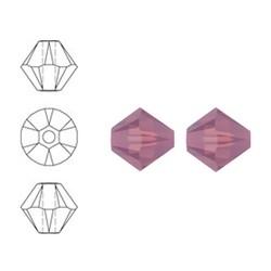 SWAROVSKI ELEMENTS Swarovski Konisch Geslepen Glaskraal. Cyclamen Opal. 8mm. Per stuk