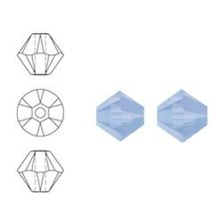 SWAROVSKI ELEMENTS Swarovski Konisch Geslepen Glaskraal. Air Blue Opal. 8mm. Per stuk