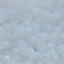 Facet Geslepen Glaskraal. White Opal. 3mm. (Tsjechisch). 10 stuks voor