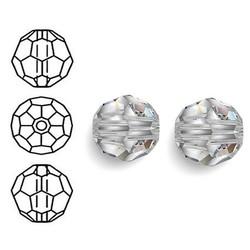 SWAROVSKI ELEMENTS Swarovski Runde Perle im Facettenschliff. 10 mm. Kristall.