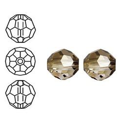 SWAROVSKI ELEMENTS Swarovski. Facetgeslepen Ronde Kraal. 6mm. Crystal Bronze Shade.