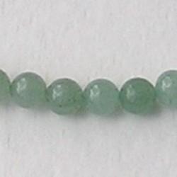 Green Aventurine. 6mm. kraal. B kwaliteit.
