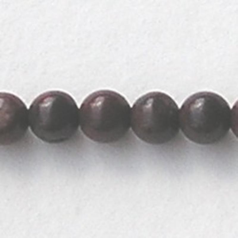 Brecciated Jasper (natural) 4mm. kraal.