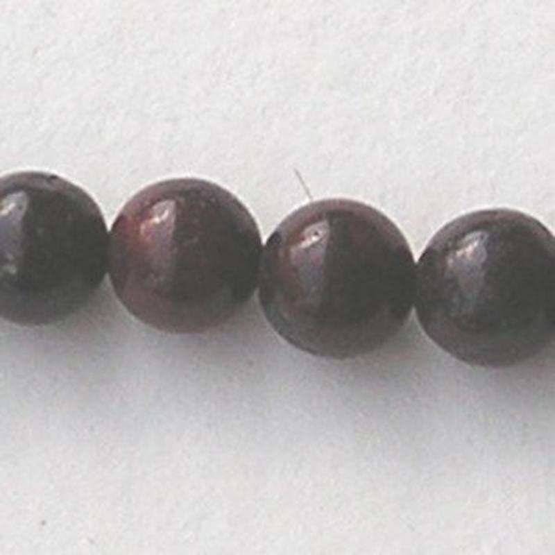 Brecciated Jasper (natural) 6mm. kraal.