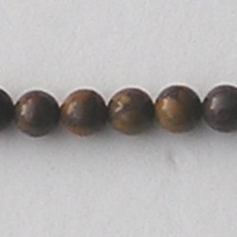 Crysantium Stone natural 6mm. kraal.