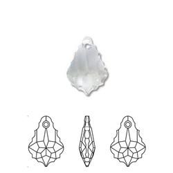 SWAROVSKI ELEMENTS Swarovski. Hanger. Crystal. 15x22mm. Facet Barok.