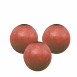 Houten kraal. 11mm. Kersenhoutbruin. per 10 stuks