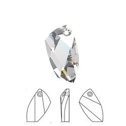 SWAROVSKI ELEMENTS Swarovski Hanger. 20mm. Crystal.