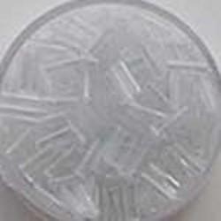 PRACHT Stiftkraal. 6mm. Crystal. 17gr. in een doosje.