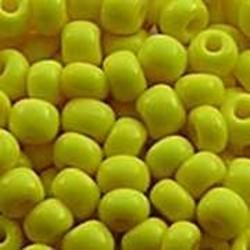PRACHT Rocailles hoge kwaliteit Geel. Opaque. 4.5mm. 17 gram voor
