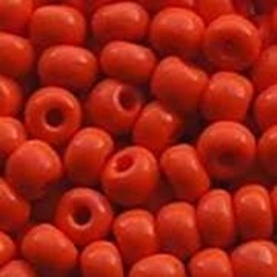 PRACHT Rocailles hoge kwaliteit Oranje. Opaque. 4.5mm. 17 gram voor