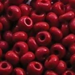 PRACHT Rocailles hoge kwaliteit Rood. Opaque. 4.5mm. 17 gram voor