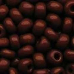 PRACHT Rocailles hoge kwaliteit Bruin. Opaque. 4.5mm. 17 gram voor