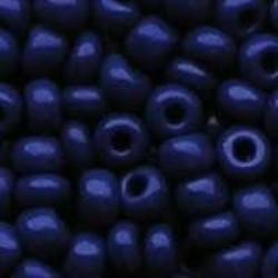 PRACHT Rocailles hoge kwaliteit Kobalt Blauw. Opaque. 4.5mm. 17 gram voor