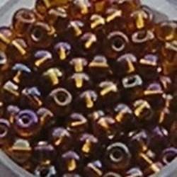 PRACHT Rocailles. Zilverkern Topaas AB. 4,5mm. Mooi tussenkraaltje. ca. 17 gram voor